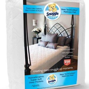 Snuggle Quilted Mattress pad