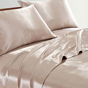Bridal Satin Sheet Sets