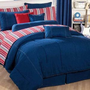 American Denim Comforters & Accessories