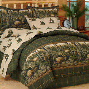 Rocky Mountain Elk Bed Set