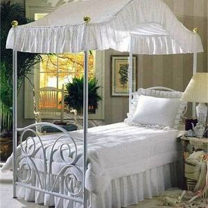 Classic Eyelet Canopy Tops & Bed Sets