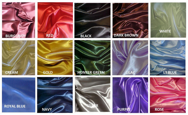 Bridal Satin Colors