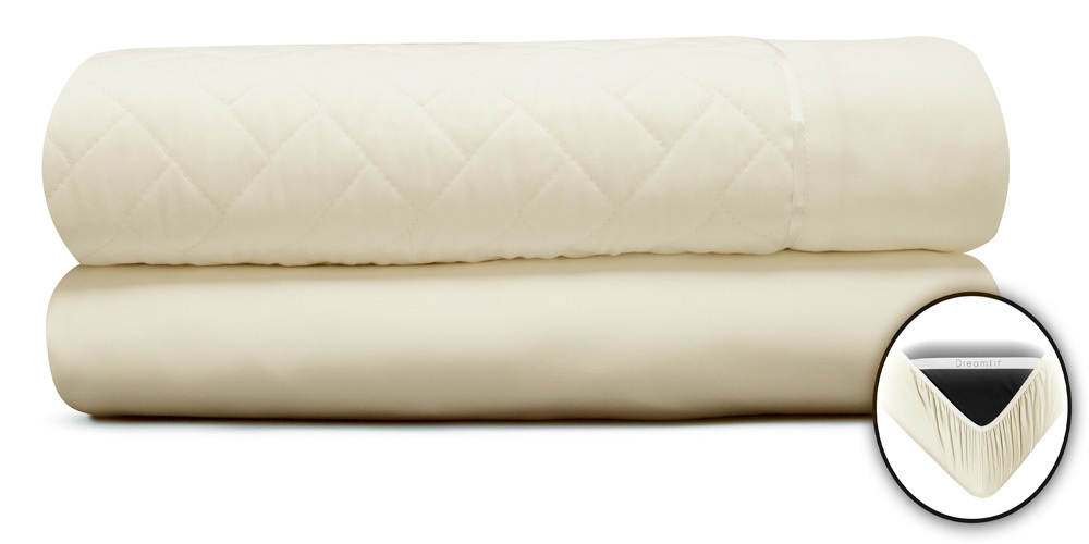 Ivory Quilted Ensemble