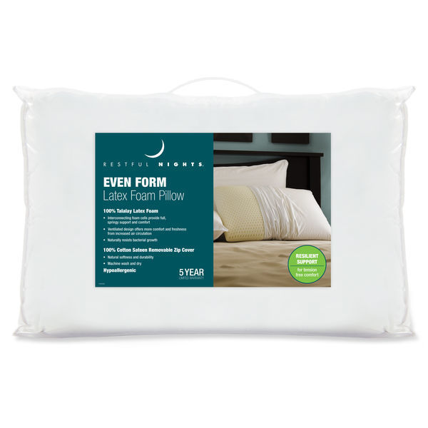 Even Form Latex Pillow