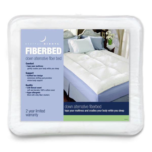 Fiber Bed Topper